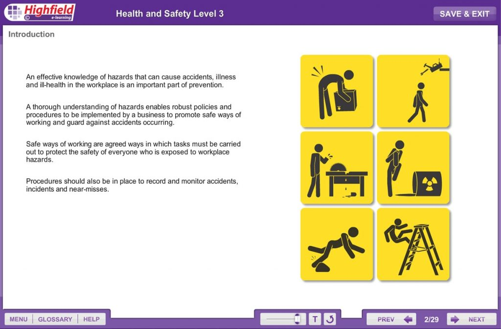 Health & Safety Level 3